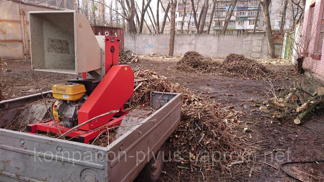 Подрібнення гілок Київ