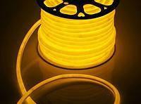 Гибкий неон флекс Жёлтый