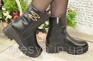 Женские модные зимние ботинки размеры 36, 37 Комфортные и теплые