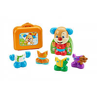 Fisher-Price Смейся и учись Гардероб Умного щенка Smart Stages Laugh & Learn Dress & Go Puppy