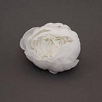 Пион из ткани большой 9 см