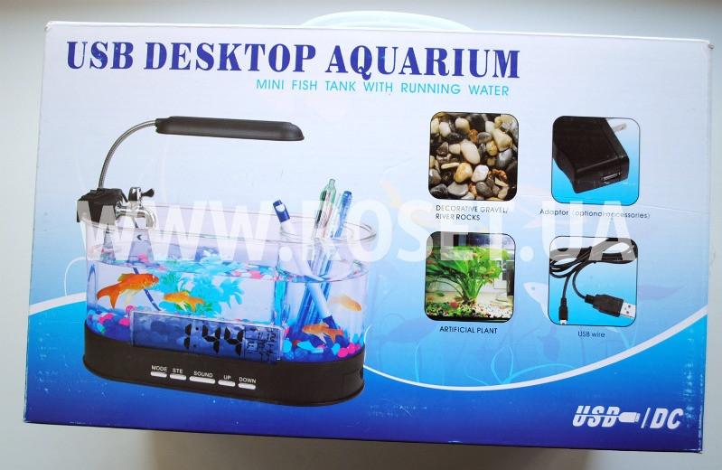 Настольный аквариум-органайзер - USB Desktop Aquarium - ЛанаДом в Киеве