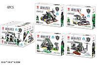 Іграшка конструктор S.W.A.T арт. QL0111, у дисплеї 4 шт., у коробці 15,5144,3 см, 4 вида