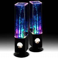 Колонка SPS water dance танцующая вода.Портативная MP3 колонка фонтан от USB