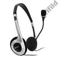 Наушники с микрофоном гарнитура Sven AP-010MV для скайпа Skype