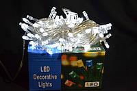 Гирлянда нить светодиодная 100 LED белый цвет
