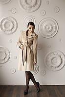 Демисезонное кашемировое женское пальто средней длины Тур-7., фото 1