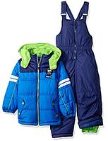 Зимний  комбинезон iXtreme (США) раздельный синий с салатовым для мальчика от 2 до 7 лет
