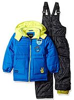 Зимний  комбинезон iXtreme (США) раздельный голубой с желтым для мальчика от 2 до 7 лет