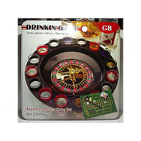 Рулетка со стопками в метал. коробке I3-91 казино