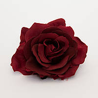 Роза из ткани большая 20 см