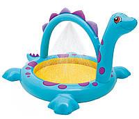 Детский бассейн Динозаврик с фонтаном Intex 57437 229x165x117 см