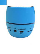Портативная bluetooth MP3 колонка NK-202 Blue, фото 3