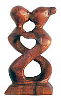 """Статуэтка """"Влюбленные"""" дерево (10,5х,5х2 см)"""