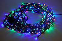 Внутренняя Новогодняя Гирлянда Нить Многоцветная на Елку 200 Лампочек Мульти