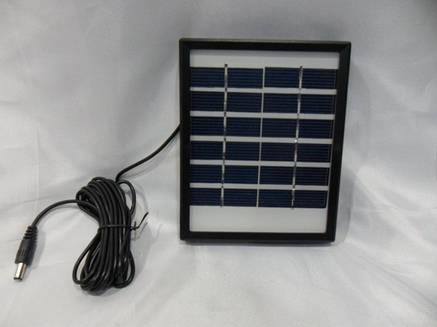 Универсальная солнечная батарея панель зарядка Solar board 2W - 6V с возможностью заряжать мобильный телефон, фото 2