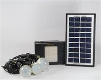 Фонарик с солнечной батареей  ( USB порт 3 подвесные лампочки USB кабель с переходниками ) 8076