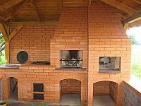 Строительство русских печей, азиатских печей, барбекю, фото 1