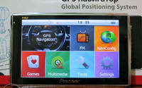 """Автомобильный навигатор GPS HD 5001 4gb Cortex A7 800mHz 5"""""""