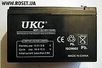 Емкостный свинцово-кислотный (GEL) аккумулятор UKC WST 12V-12Ah RC201502