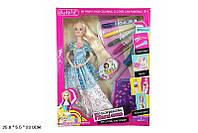 Кукла типа БарбиМодельер 304 48шт2раскраш.платье и волосы,тарфареты,цветн маркер...,кор25533