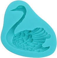 Молд формочка Лебедь Empire 8203 для создания объемного лебедя из мастики шоколада глазури