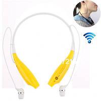 Беспроводные Bluetooth наушники Sport TM-730 Yellow