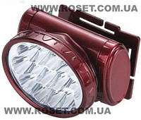 Фонарь налобный  светодиодный аккумуляторный YJ-1898 аккумуляторный