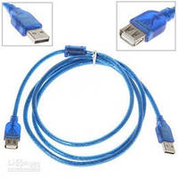 Кабель удлинитель Maxxtro USB 2.0M - USB 2.0F 5м UT-AMAF-15 5м с фильтром