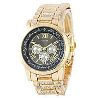 Часы наручные Guess B132 Gold-Black (реплика)