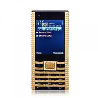 Мобильный телефон CARTIER Silver Gold dual sim (качественная копия)