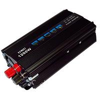 Автомобильный преобразователь напряжения UKC 1200W SSK авто инвертор с 12V на 220V