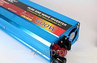 Преобразователь с чистой синусоидой UKC AC/DC 600W с 12 в на 220 в  инвертор 600 Вт