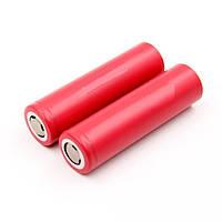 Аккумуляторная батарейка AW 18650 3.7V 2000mAh 7.4WH RED для электронных сигарет, Красная