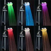 Светодиодная насадка для душа турбина LED Shower Bradex с подсветкой 4 цветовых режима