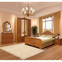 Спальня 4Д Катрин патина  (Світ меблів)