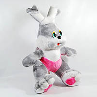 Мягкая игрушка Заяц 000456, мягкая игрушка Заяц в шортах