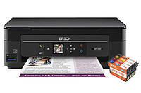 МФУ Epson Expression Home XP-340 с картриджами Lucky Print