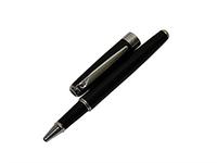 Ручка роллер и шариковая ручка Pierre Cardin с черным и серебряным корпусом NEW LEO
