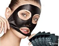 Черная маска в пакете - пленка от прыщей и черных точек Black Mask