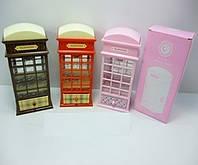 Шкатулка Лондонская телефонная будка MY60431-4 36шт2 3 вида
