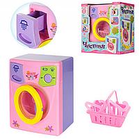 Детская игрушечная стиральная машина Чистюля 2010 A, стиральная машинка 2010 Bambi