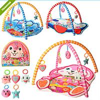 Детский Развивающий Коврик 518-19-20-21 Baby для малышей, Интерактивный Коврик 518