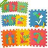 Детский Развивающий Коврик Мозаика M 0386 Растения, Коврик 0386 Пазлы Цветы