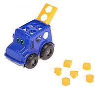 Детская Игрушка Автобус Сортер 0244 Бусик №1, Сортер Автобус 0244 Бусик