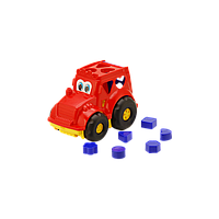 Детская Игрушка Сортер Трактор 0329 Кузнечик №1, Трактор-сортер 0329 Орион