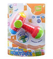 Детская Музыкальная Погремушка Молоточек T 10 D 719 MS 1009 для малышей, Игрушка Музыкальный Молоточек 719