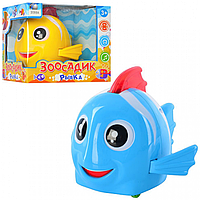 Детская Музыкальная Игрушка Рыбка 3088 A Зоосадик, Интерактивная Рыбка 3088 для малышей