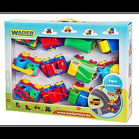 Детский Игровой Набор Машин 39243 Wader, Набор машинок 39243 Вадер, 12 штук