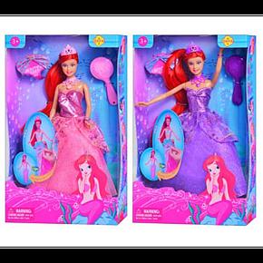 Детская Кукла Русалочка Defa 8188, Кукла 8188 Русалочка с хвостом, фото 2